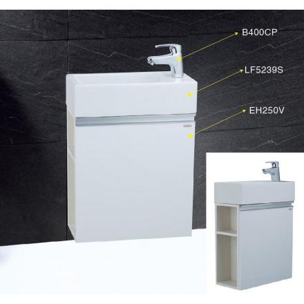 Tủ chậu rửa mặt Caesar LF5239S+EH250V