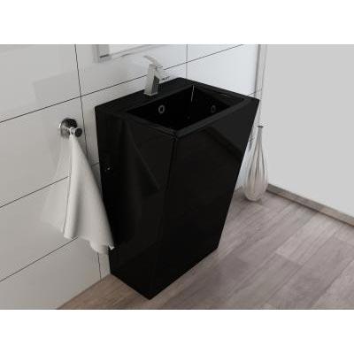 Chậu rửa mặt lavabo nghệ thuật chân đứng 01