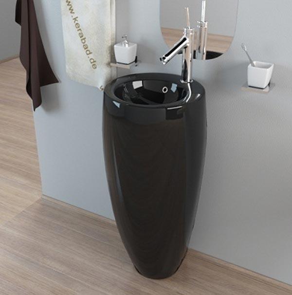 Chậu rửa mặt lavabo chân đứng nghệ thuật 06