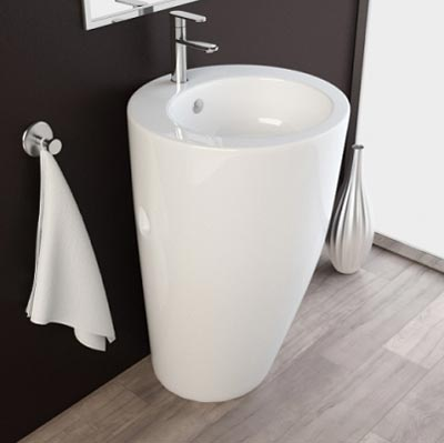 Chậu rửa mặt lavabo nghệ thuật chân đứng 10