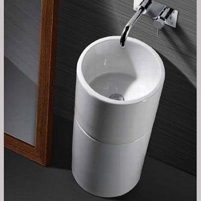 Chậu rửa mặt lavabo nghệ thuật chân đứng 11