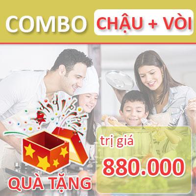 Mua bộ Chậu rửa bát + Vòi tặng quà trị giá 880.000