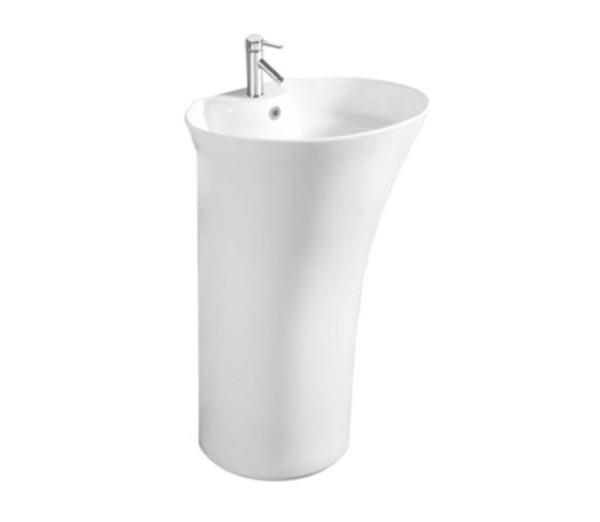 Chậu rửa mặt lavabo chân đứng Moonoah MN-B521