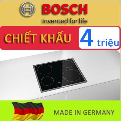 BOSCH – Mua BẾP TỪ nhập khẩu Đức tiết kiệm tới 4 triệu đồng