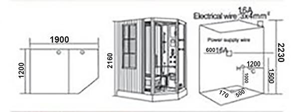 Phòng xông hơi TDO-118D