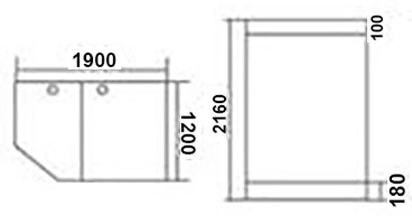 Bản vẽ Phòng xông hơi TDO 124