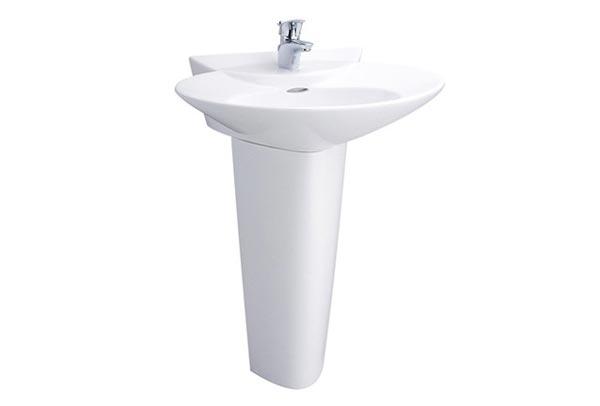 Chậu rửa lavabo chân đứng Toto LPT908C