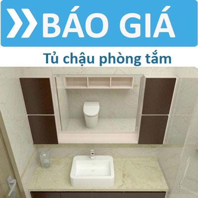 Báo giá tủ chậu lavabo phòng tắm mới nhất