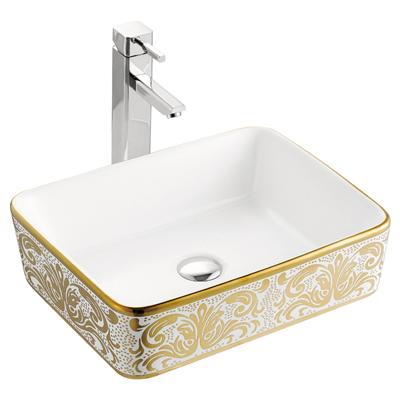 Chậu rửa mặt lavabo Lộc An Phát A022 K01