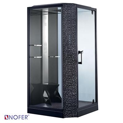 Phòng xông hơi ướt Nofer VS-89101S R Black