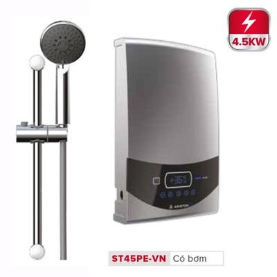 Bình nóng lạnh trực tiếp Ariston Aures Luxury Square ST45PE-VN
