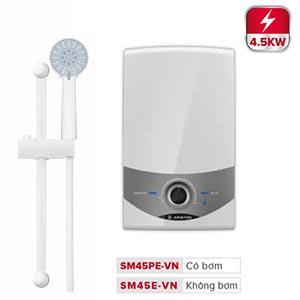 Bình nóng lạnh trực tiếp Ariston Aures Comfort SM45PE-VN