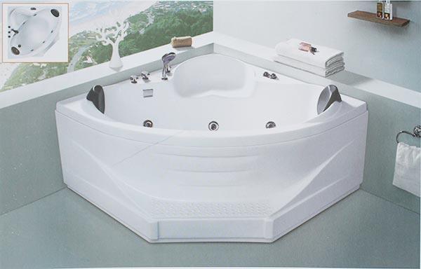 Kích thước bồn tắm để phù hợp với không gian phòng tắm