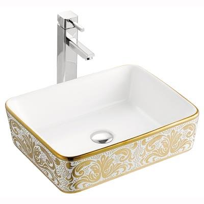 Chậu rửa mặt lavabo nghệ thuật LAP A022-K01