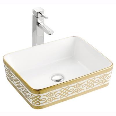 Chậu rửa mặt lavabo nghệ thuật LAP A022-K03