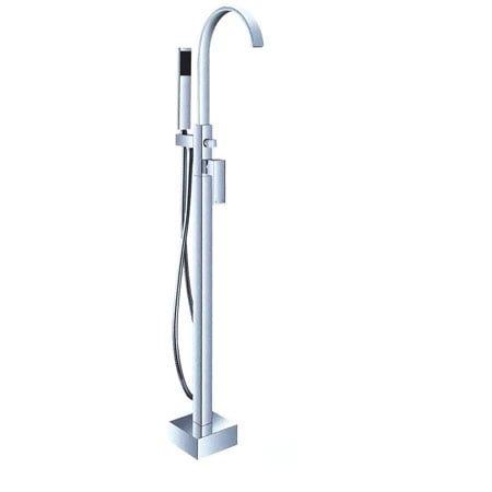 Bộ vòi sen tắm xả bồn LaiWen LD-02