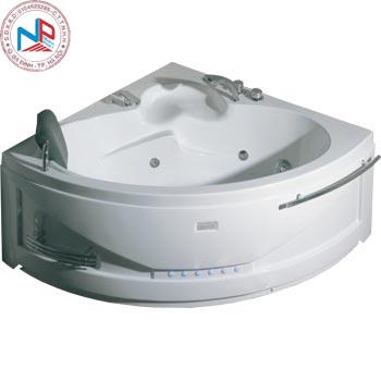 Bồn tắm massage Nofer NG-5503P (sục khí, đế ngọc trai)
