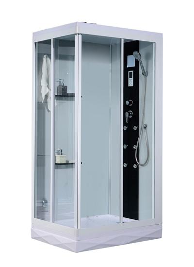Phòng xông hơi ướt Nofer VS-86152AS White