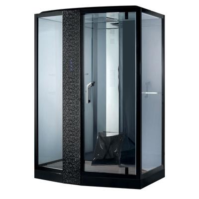 Phòng xông hơi ướt Nofer VS-89102S R Black