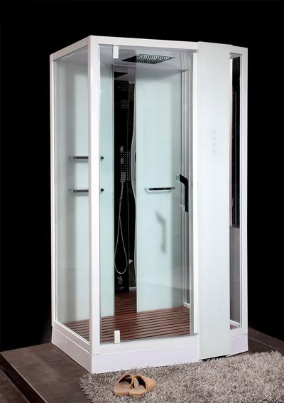 Phòng xông hơi ướt Nofer VS-89105S R White