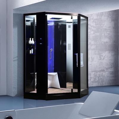 Phòng xông hơi ướt Nofer VS-89106S Black