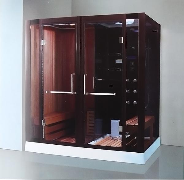 Phòng xông hơi khô, ướt massage LaiWen W-7001