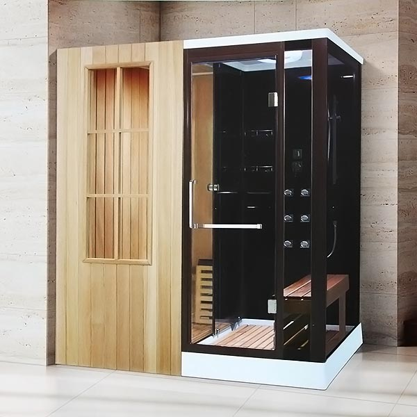 Phòng xông hơi khô, ướt massage LaiWen W-7003