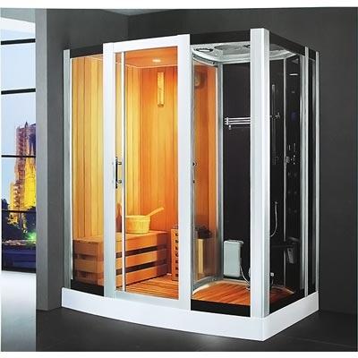 Phòng xông hơi khô, ướt massage LaiWen W-7004