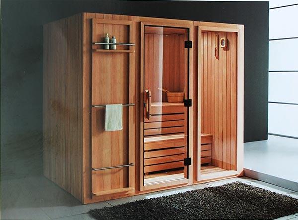 Phòng xông hơi khô hồng ngoại LaiWen W-8008