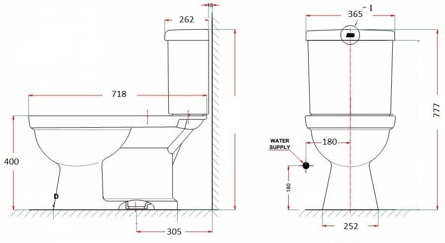 Nắp rửa thông minh American Standard SLIM 00001-WT 1