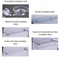 Bộ phụ kiện phòng tắm 5 món CleanMax series 79000