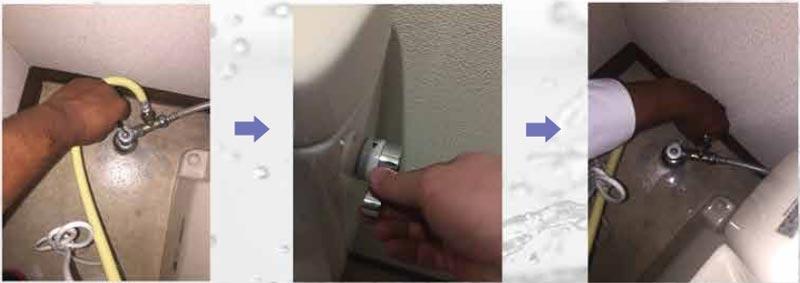 Các bước lắp đặt nắp rửa điện tử ARCA YL-01 - Bước 1 + 2