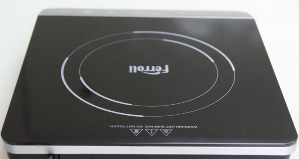 Bếp từ đơn Ferroli IS2000EC - Mặt kính pha lê đen