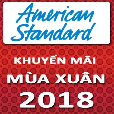 American Standard - Khuyến mãi Mùa xuân 2018