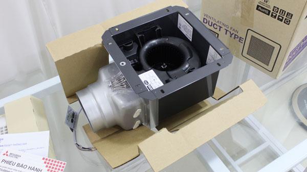 Quạt hút thông gió âm trần Mitsubishi VD-10Z4T5-D (hẹn giờ)