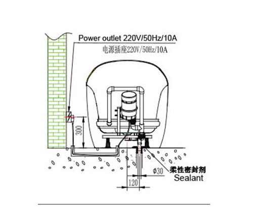 Bồn tắm massage INNOCI NB25802TW-6K