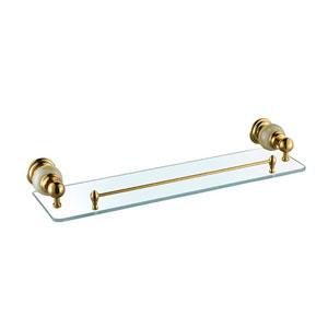 Kệ gương mạ vàng CleanMax 19005