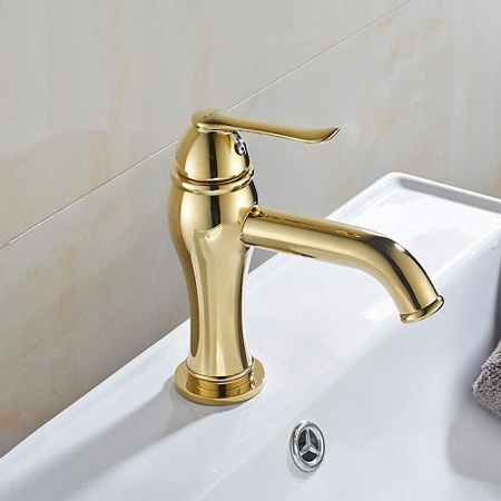 Vòi rửa mạ vàng Cleanmax 1801