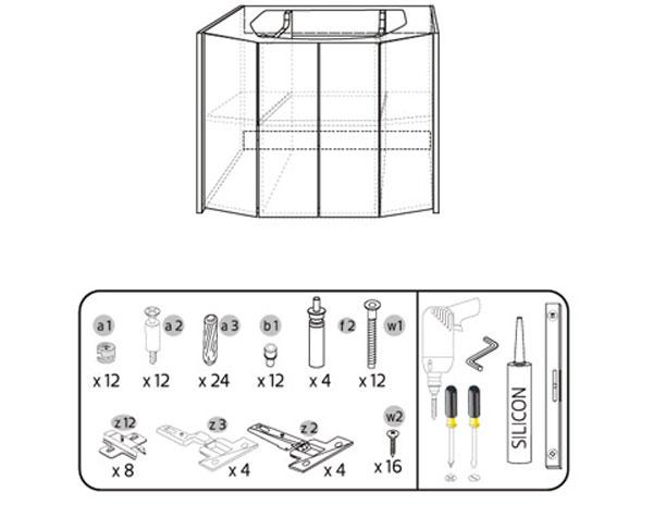 chuẩn bị dụng cụ và lựa chọn tủ chậu phù hợp