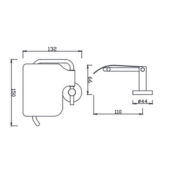 Lô giấy vệ sinh American K-2801-43-N