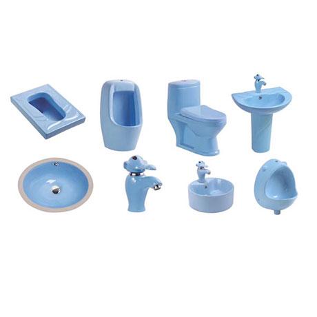 Bộ sưu tập bồn cầu trẻ em theo màu sắc (Màu xanh dương)