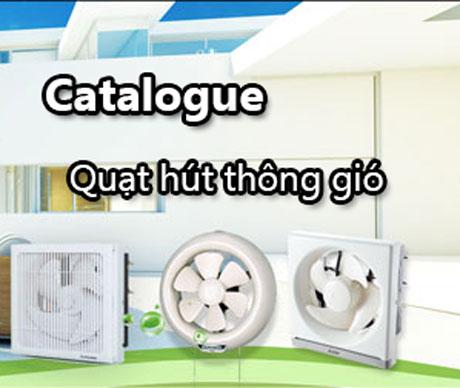 Catalogue quạt hút thông gió mới nhất