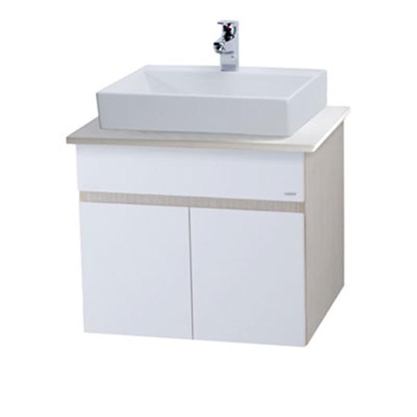 Tủ chậu rửa mặt Caesar LF5253 (FB001A+EH160V)