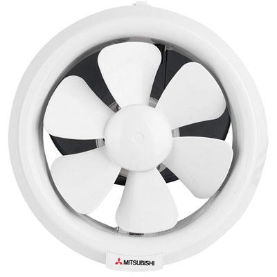 Quạt hút thông gió ốp vách kính Mitsubishi V-20SL3T