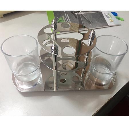 Kệ cốc bàn chải inox 304 Moonoah MN-G1004