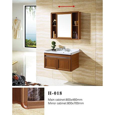 Bộ tủ chậu nhôm DADA H-018