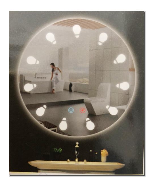Gương đèn Led Anmei AM-018