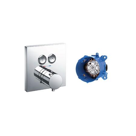 Van điểu chỉnh nhiệt độ kèm van chuyển hướng TOTO TBV02406B/TBN01001B