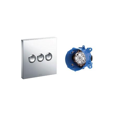 Van điểu chỉnh nhiệt độ kèm phụ kiện âm tường TOTO TBV02105B/TBN01001B