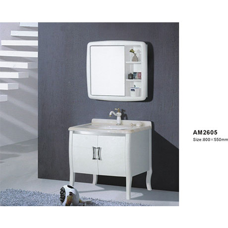 Bộ tủ chậu PVC cao cấp DADA 2605